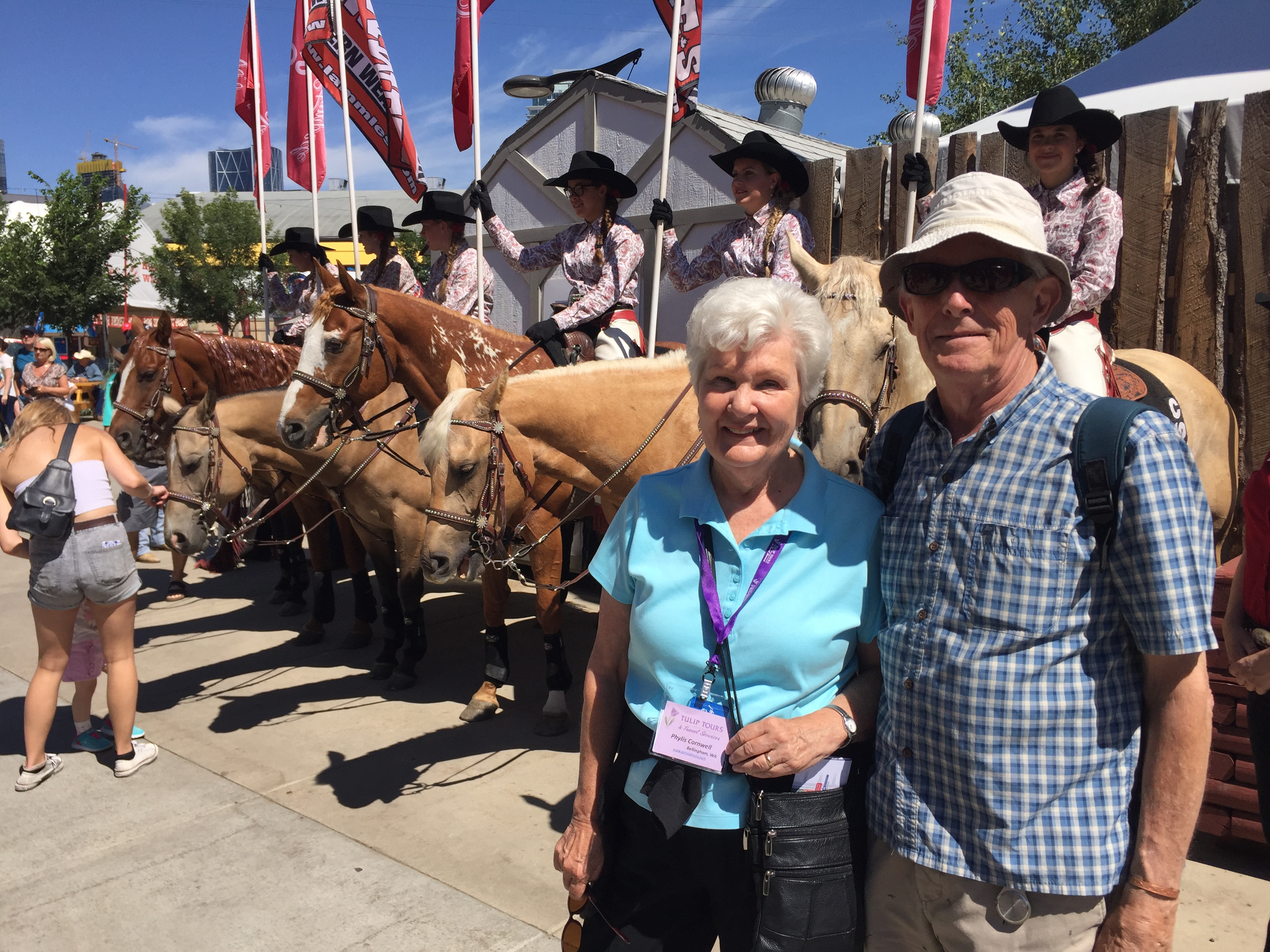 The Calgary Stampede Tulip Tours